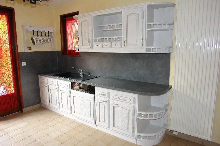 souvent Renovation cuisine ancienne en chene | Argileo RQ77
